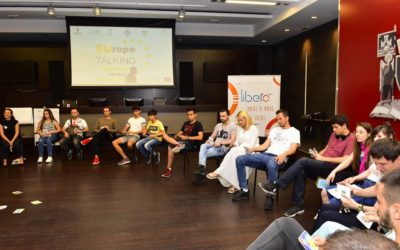EUROPE TALKING PROJECT IMPLEMENTED AT THE VRAČAR MUNICIPALITY