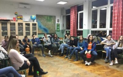 "Workshops for High School Students Held within the project ""Europe Talking"""
