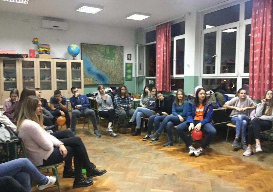 """Workshops for High School Students Held within the project """"Europe Talking"""""""